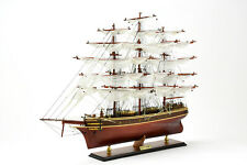 British Clipper Cutty Sark Handcrafted Wooden Tallship Model 34""