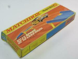 MATCHBOX SUPERFAST TRACK ACCESSORY SF-13 Space Leap Boxed 1970