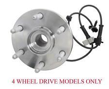 (1) Front Wheel Bearing and Hub Assembly Fits GMC Yukon 00-06 4 Wheel Drive