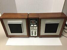 Vintage Panasonic Radio RE-787 AM FM Stereo Extension Speaker Works