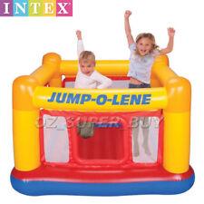 INTEX Kids Inflatable Jump Playhouse Bouncer Trampoline Playground Toys AU STOCK