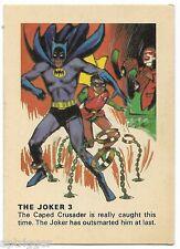 1966 Batman Weeties & Rice Krinkles The Joker 3 (Excellent)