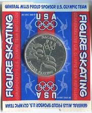 T780a General Mills US Olympic Team Nagano 1998 Olympiad, Figure Skating, token