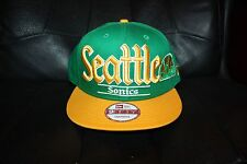 Brand New New Era Seattle Supersonics Snapback cap hat retro Payton Kemp