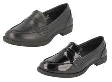 Zapatos planos de mujer de color principal negro de piel sintética