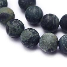 piezas Piedras Preciosas Teñido Hazlo tú mismo fabricación de joyas Piedra Roca Lava redonda granos 6mm Gris 60