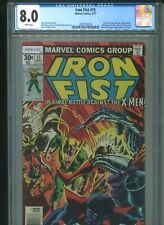 Iron Fist #15 CGC 8.0 (1977) Final Last Issue X-Men Wolverine Byrne & Cockrum