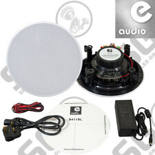 "E-Audio Bluetooth Speaker Kit (Master and Slave) Moisture Resistant 6.5"""