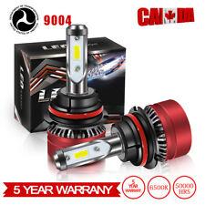 2PCS 9004 LED Headlight 12000LM Kit Hi/Lo Car Light Kit Bulbs White 6000K HID