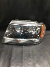 99 00 01 02 03 04 JEEP GRAND CHEROKEE DRIVER HEADLIGHT HEAD LIGHT LAMP OEM USED