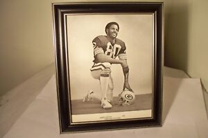 James Lofton Green Bay Packers 8 x 10 Black & White Photo in Frame