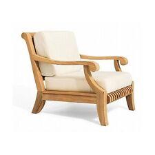 Lounge Arm Chair Teakwood Garden Outdoor Indoor Furniture Dining Patio Pool Giva