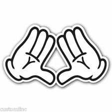 DIAMOND WHITE Sticker Bomb Decal Car Macbook Laptop Funny Hoonigan Illuminati