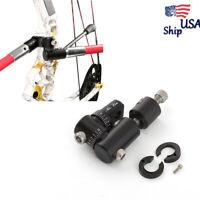 Archery Single Side V-Bar Quick Disconnect Mount Adjust Bow Rod Stabilizer USA