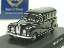 Bos BMW 502 Hearse, carro funebre, Nero - 87160 - 1/87