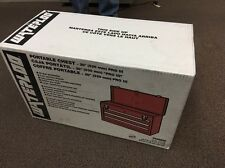 Waterloo PCH2030 20-1/2 Long by 8-1/2 Wide by 12-3/4 High Red 3Dr Metal Tool Box