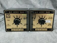 TANGO  XE-60-2.5S TRANS  output transformer pair In Excellent Condition