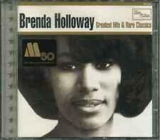 """BRENDA HOLLOWAY """"Greatest Hits & Rare Classics"""" CD"""