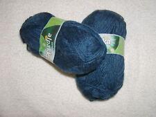 2 Skeins - Alpakka by SandnesGarn. 100% Baby Alpaca #6063 - blue~ 240 yards