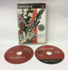 METAL GEAR SOLID 2 - sons of liberty - play 2