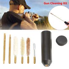 New Brushes Hand Gun Cleaning Kit Brass Rods Pistol Cleaner Set For 357/38/9mm