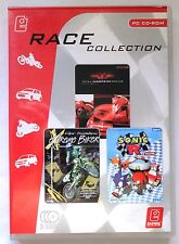 RACE COLLECTION PC 3 GAME SET TOTAL IMMERSION RACING, SONIC R, EXTREME BIKER new
