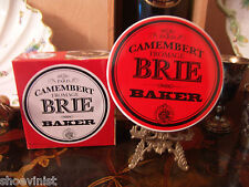 Bistro De Paris Brie Camembert Fromage Cheese Baker Stoneware Great Holiday Gift