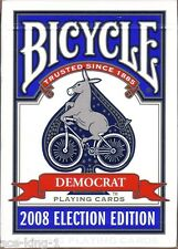 1 Decks Bicycle Election Edition 2008 DEMOCRAT playing cards