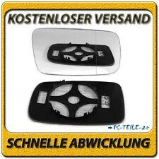 Spiegelglas rechts asphärish für BMW 3 E46 Coupe 97-06 mit Platte Beheizbar