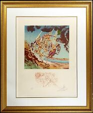 "Salvador Dali ""Return Of Ulysses"" AUTHENTIC Hand Signed by Dali MAKE AN OFFER!"