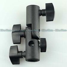 Vertical 180° Tilt Swivel Umbrella Holder Bracket Light Stand For Canon Nikon