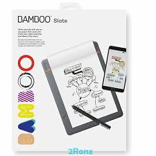 Wacom Bamboo Slate Smartpad Bluetooth Pen A5 / A4 Handwritten to Digital Files