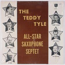 THE TEDDY TYLE ALL-STAR SAXOPHONE SEPTET: Rare 60s Jazz GOLDEN CREST LP