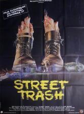 STREET TRASH - HORROR / MURO - ORIGINAL LARGE FRENCH MOVIE POSTER