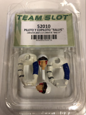 Team Slot 52010 Half Driver Figures Rallye Driver and Co Driver NEW