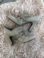 FRYE Allie Softy Pump Ankle Booties Shooties Heel Pumps Brown Leather  10M M1