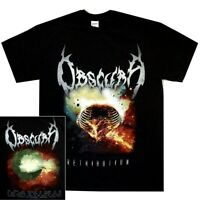 Obscura Retribution Shirt S M L XL Death Metal Tshirt Official Band T-Shirt New