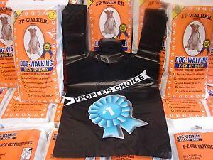 5000 Dog Walking EZ Tie Handles Poop Clean Up Waste Pick Up Bags JP Walker Brand