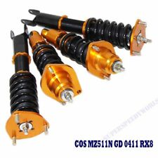 Gold Suspension Coilover Set for 2004-2011 Mazda RX8 RX-8 GS/GT/Sport Coupe 4D