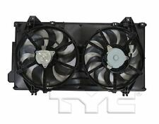 TYC 623580 Dual Rad&Cond Fan Assy for Mazda 3 Mexico Built 2016-2017 Models