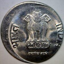 2013 ERROR 20% Off Center India 2 Cent Piece Two Rupee O/C US QUARTER SZ Coin NR