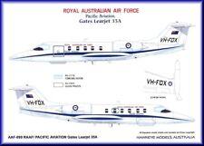 1/48 RAAF Decals; Gates Learjet 35 VH-FOX