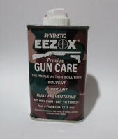 4.0 Oz Can Synthetic EEZOX Premium Gun Care oil Good from -450F up to 95F