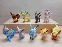 Pokemon Go Pikachu Eevee Mini Action Figure Doll Toy 4-5cm Pocket Monster Decor
