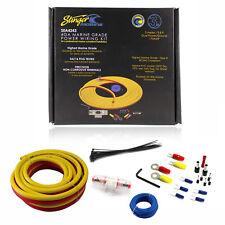 Stinger SEA4243 Marine Grade Amplifier Installation Kit 4GA 3 Meter
