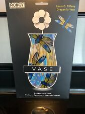 Modgy Myvaz Collapsible / Expandable Flower Vase - Tiffany Dragonfly 10 X 6 ~M~