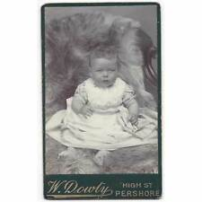 CDV Victorian Child Carte de Visite by Dowty of Pershore