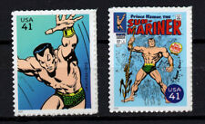 Usa, Scott # 4159C & 4159M, Set Of 2 Sub-Mariner & Cover Of Submariner, Mnh