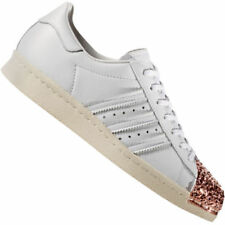 Baskets Superstar blanches adidas pour femme