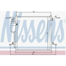 Nissens Kondensator, Klimaanlage Mitsubishi L 200 / Triton 940068